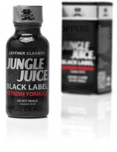 Poppers jungle juice black label le meilleur poppers
