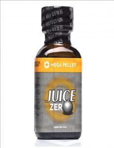 Poppers jungle juice zero avec boule protectrice